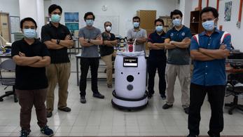 Hordószerű robotot vetnének be a koronavírus ellen Malajziában