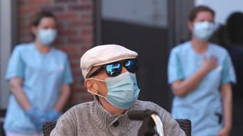 942 új fertőzött Belgiumban, áprilisban ez a legalacsonyabb napi emelkedés