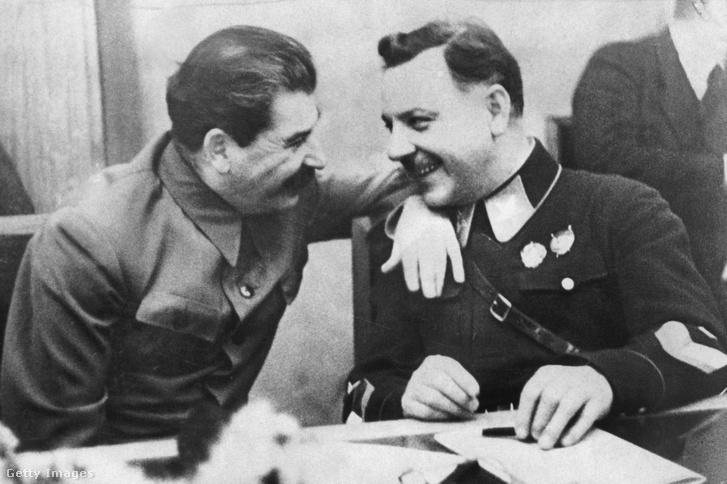 Sztálin és Vorosilov 1940-ben