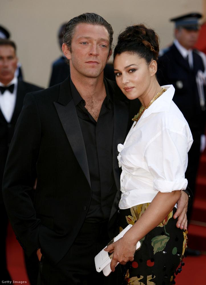 És egy fotó, melyen egykori férjével, Vincent Cassellel látható