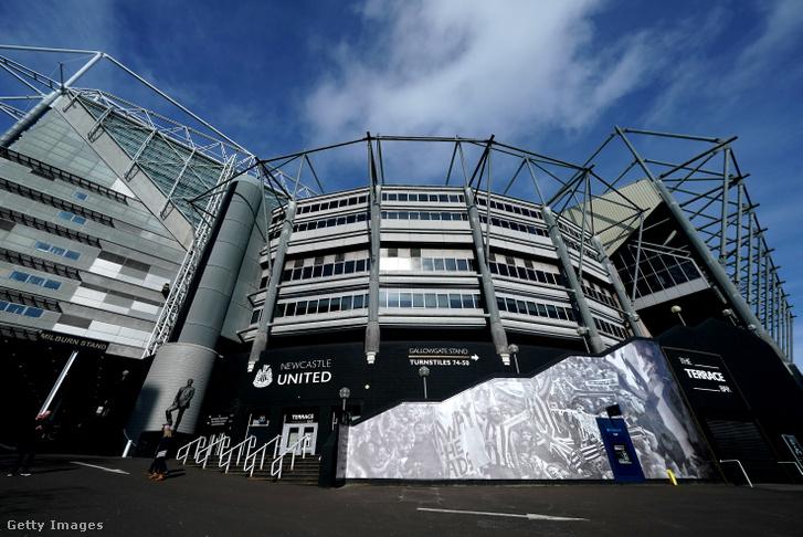 A Newcastle United otthona