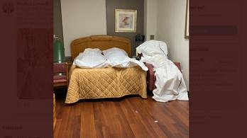 Detroitban elfogyott a hely a halottasházban, egy székre ültették a koronavírus áldozatát