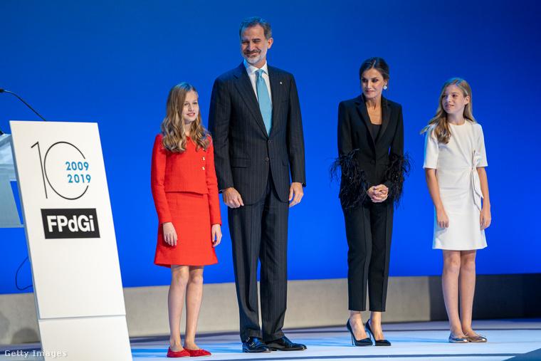 Első hivatalos megjelenése a spanyol Nobel-díjként is emlegetett Asztúria hercegnője-díj átadóján volt, ahol beszédet is mondott