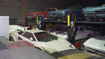 Hihetetlen, milyen autókat halmozott fel ötven év alatt ez a gyűjtő