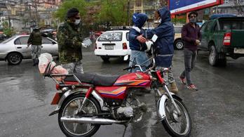 Túl nagy a bűnözés, az afgán fővárosban betiltották a motorozást