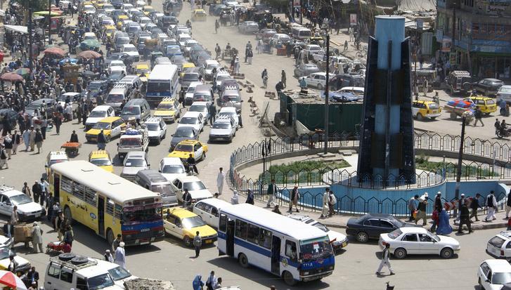 Kabuli utcakép