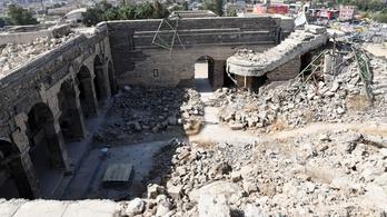Ritka ókori kincsek kerültek elő az Iszlám Állam mecsetrobbantása után