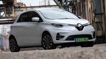 Teszt: Renault Zoé R135 Intens – 2020.