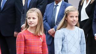 Ez a 14 éves, Disney-filmekbe illő hercegnő lesz Spanyolország következő uralkodója