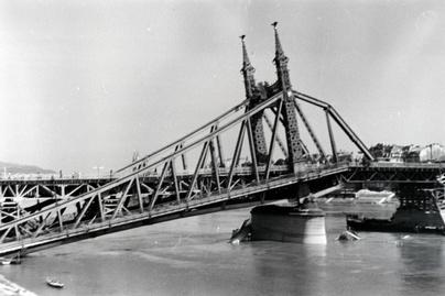 Szabadság híd rom