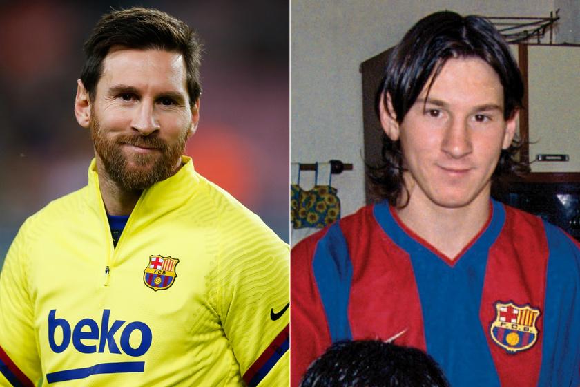 Lionel Messi 2003-ban még nagyon másképp festett. Rengeteget változott.