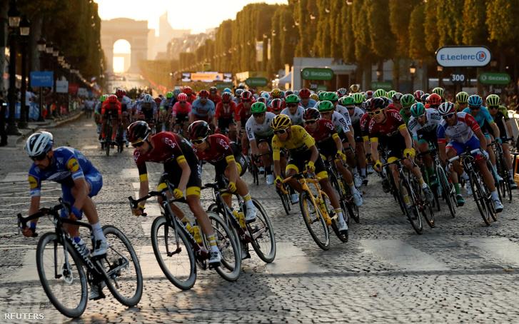 A Tour de France mezőnye 2019. július 28-án