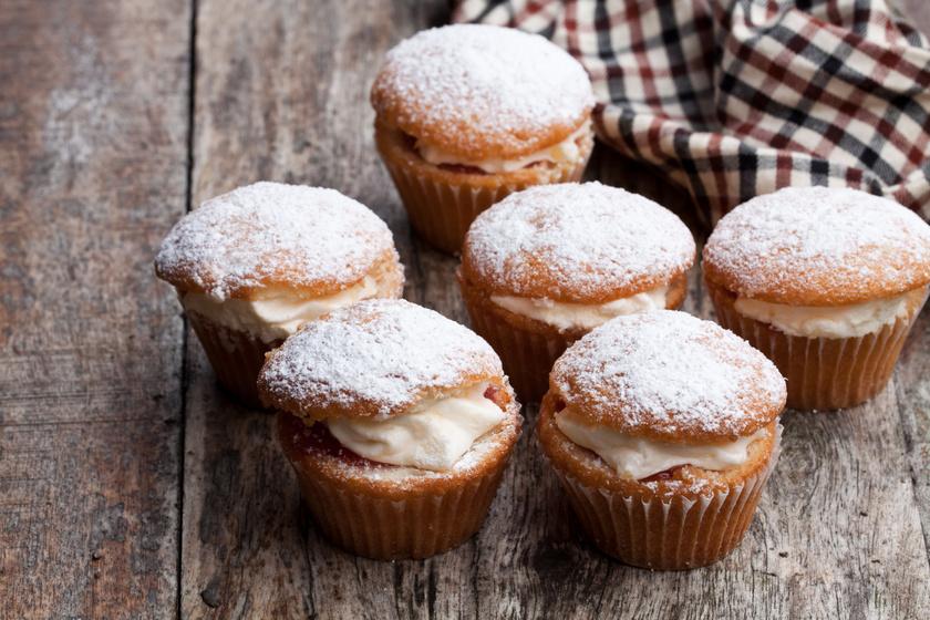 Álomfinom tejszínes muffin: 15 perc munka sincs vele