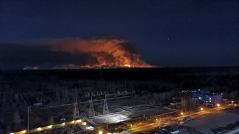 Több turisztikai látványosság leégett a csernobili tűzben