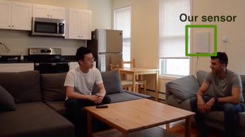 Egy falra szerelhető doboz ellenőrizné az otthon gyógyulók légzését és mozgását
