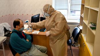 Ukrajnában újabb rekordot döntött a fertőzöttek számának növekedése