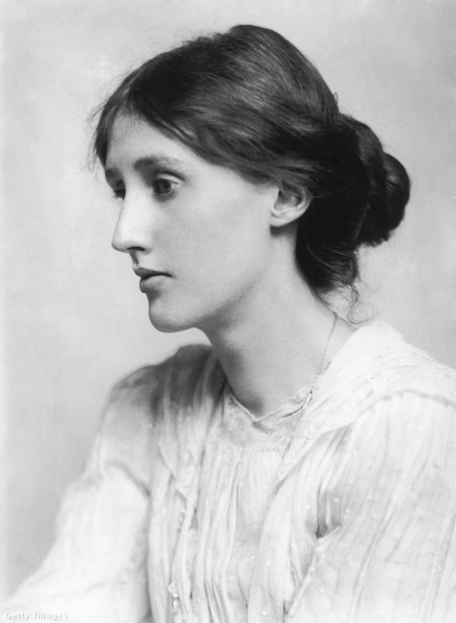 A fiatal Virginia Woolf