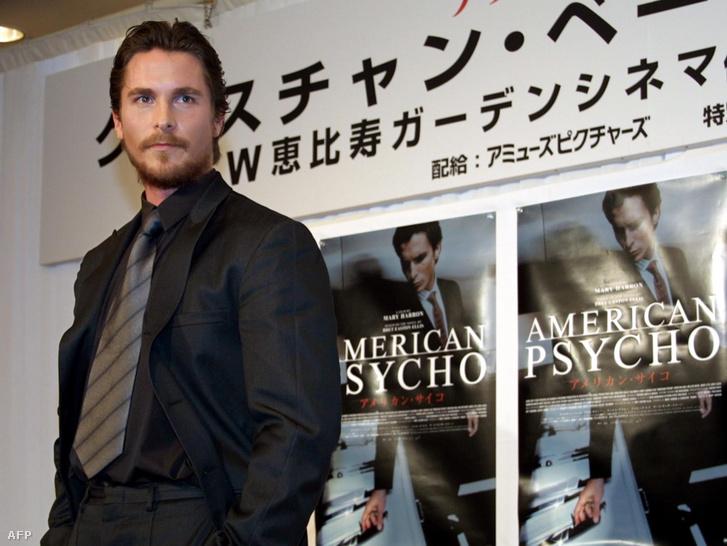 Christian Bale a film japán sajtóturnéján 2001 januárjában.