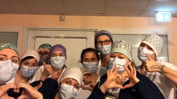 A világbajnok magyar ápolónő a francia frontvonalban küzd a koronavírus ellen