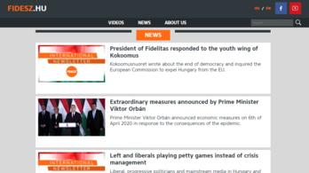 Most már angolul is olvashatja a Fidesz híreit