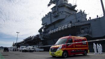 A matrózok több mint harmada fertőzött a De Gaulle repülőgép-hordozón