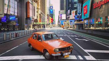 1977-es Daciával pózoltak New York kihalt utcáin