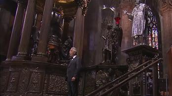 Letarolta a YouTube-ot Andrea Bocelli húsvéti koncertje
