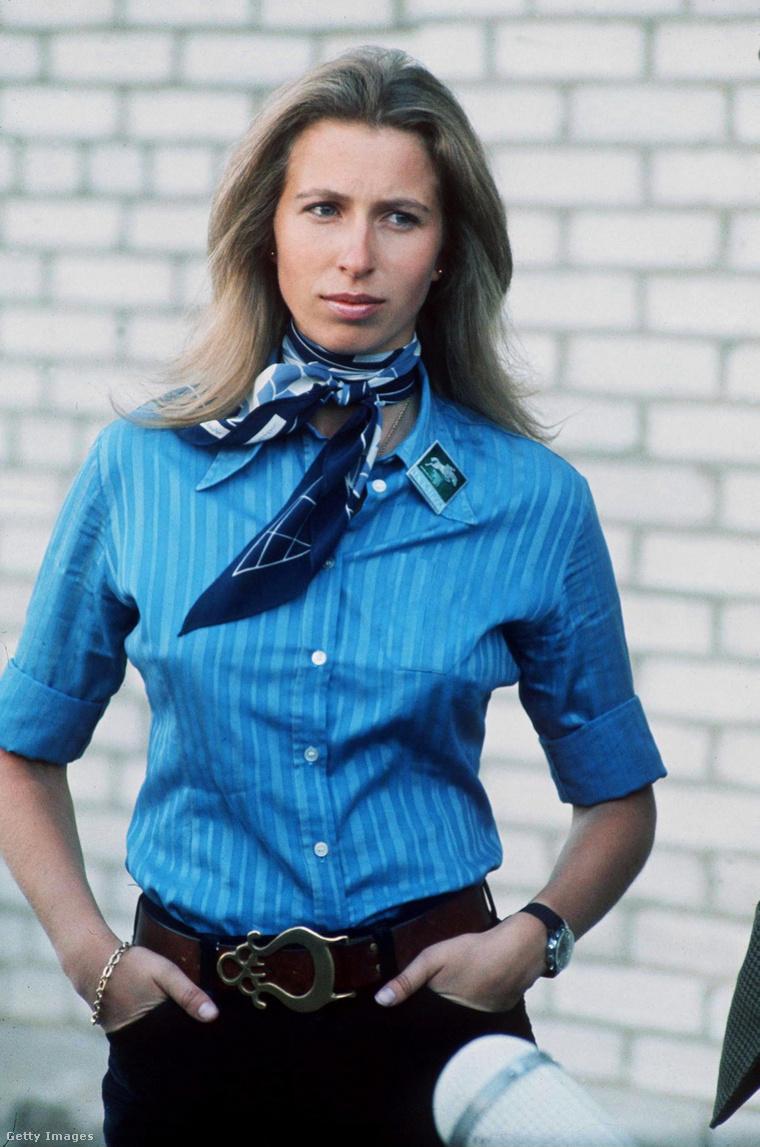 Anna hercegnő 1973-ban