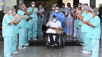 Felgyógyult a koronavírusból egy 99 éves háborús veterán Brazíliában