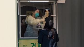 141, korábban már gyógyultnak nyilvánított ember tesztje lett pozitív Dél-Koreában