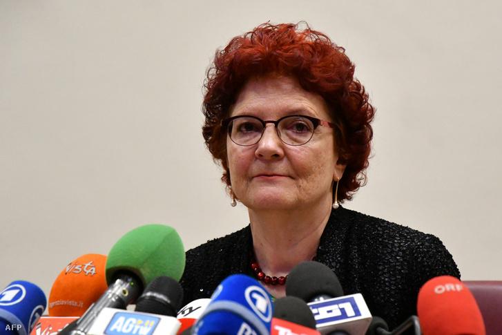 Andrea Ammon az Európai Betegségmegelőzési és Járványvédelmi Központ (ECDC) igazgatója