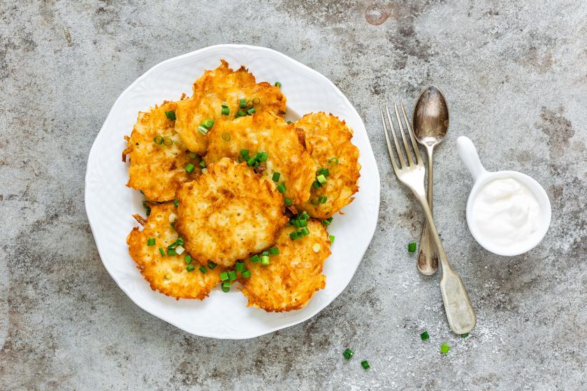 Régimódi krumplipalacsinta a nagyi konyhájából: köret vagy főétel is lehet