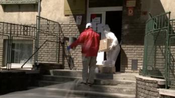 31 koronavírus-fertőzöttet regisztráltak a borsodnádasdi idősotthonban, egyikük meghalt