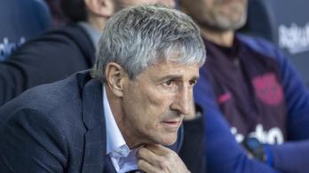 Nem tetszik a bajnokság folytatásának ötlete a Barcelona edzőjének