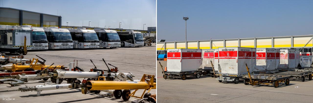 Az összes áruforgalom körülbelül 15-20%-a köthető a mostani rendkívüli helyzethez: gyógyszeripari termékek, védőfelszerelések, fertőtlenítők érkeznek elsősorban. Az általános áruforgalom is megmaradt: rendkívüli helyzetekben, mikor a globális logisztikai láncokban komoly nehézségek állnak fenn, a légiszállítás stabil, megbízható megoldás.