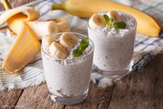 A reggelire szánt chiapudingot előző este is elkészíthetjük.