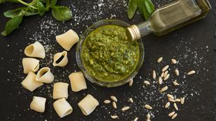 Pesto házilag: glutén-, tojás- és cukormentes recept