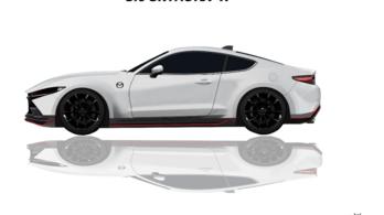 Ilyen hátsókerekes Mazda sportautónak is örülnénk
