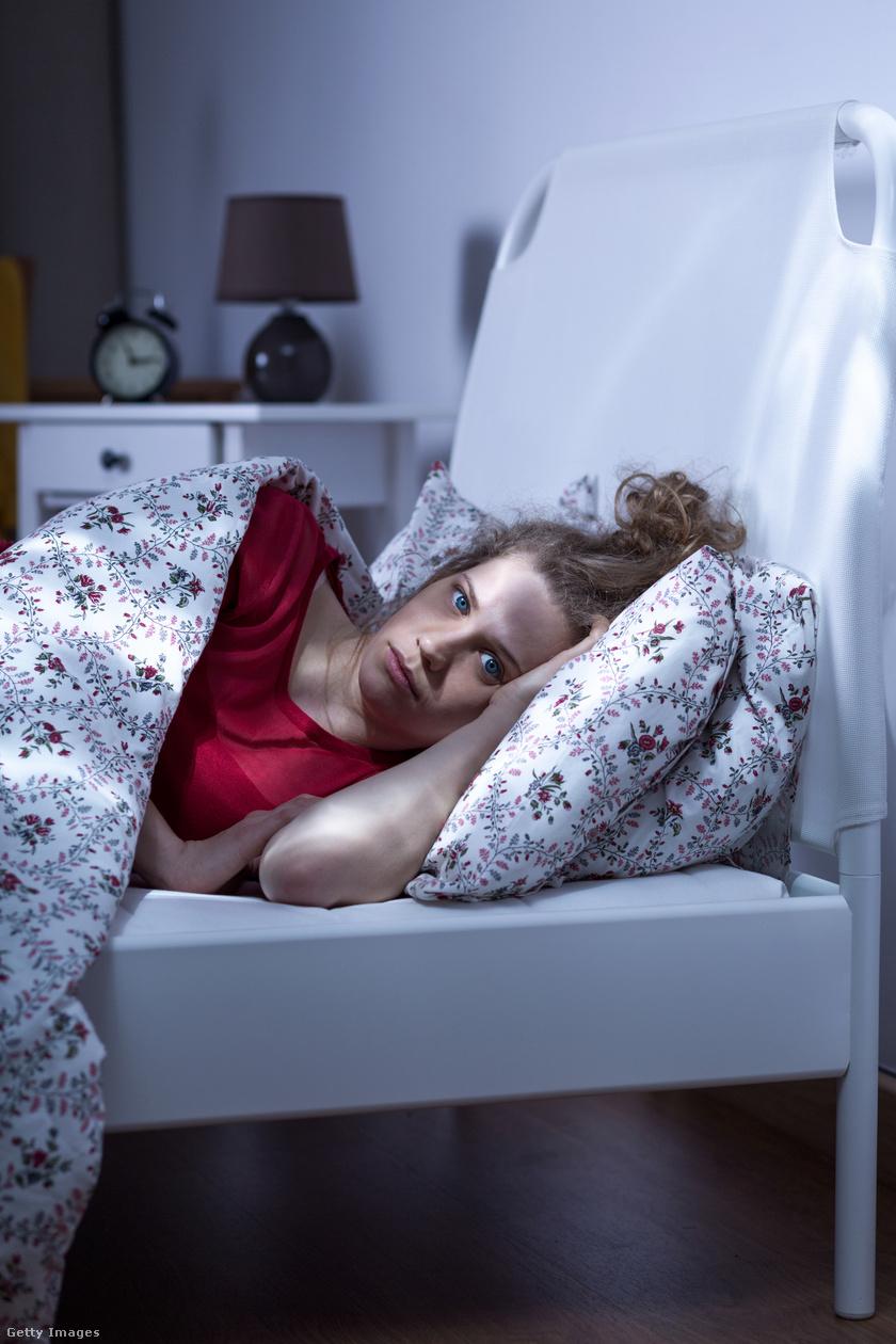 az alvási szorongás hiánya lefogy