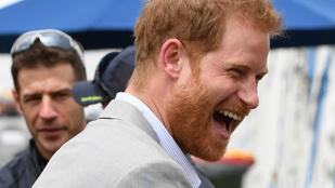 Harry herceg ünnepel, ha néha hisztérikusan fetrenghet a földön