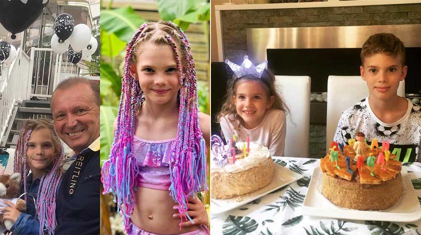 Alíz 2019 júliusában ünnepelte a nyolcadik, míg Lilla és Ádám 2019 szeptemberében a hatodik, illetve tizedik születésnapját.