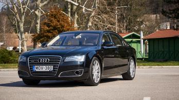 Használtteszt: Audi A8L (D4) W12 FSI Quattro - 2012.