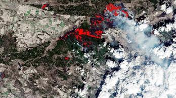 Az űrből is látható volt a csernobili erdőtűz, Kijev légszennyezettsége veszélyes az egészségre