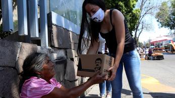 A mexikói drogkartellek segélycsomagokat osztogatnak a rászorulóknak