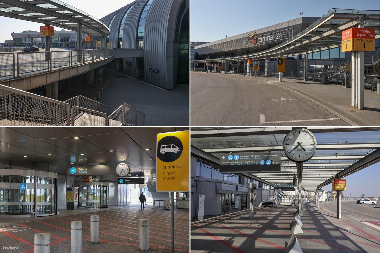 Egy évvel ezelőtt ilyenkor utasoktól hemzsegett a terminál. Kiutazók, beutazók, turisták és üzleti utasok tízezrei fordultak meg naponta a repülőtéren, vártak a járataikra vagy a csomagjaikra. Tavaly egy jobb márciusi napon több mint 4500 autó állt a parkolóban.
