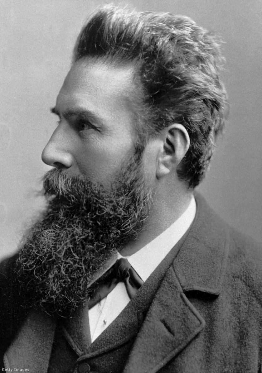 Wilhelm Roentgen.