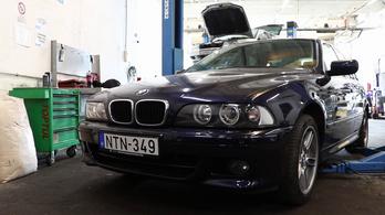 Péter BMW-jét kontárok szerelték