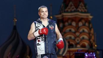 A Vörös téren bokszolna júliusban az orosz sztár
