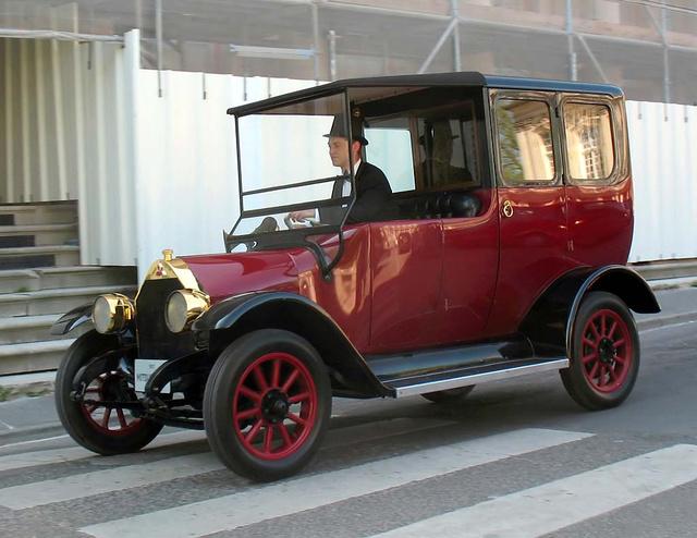 Így nézett ki a Mitsubishi Model A, ami genetikáját tekintve Fiat volt.
