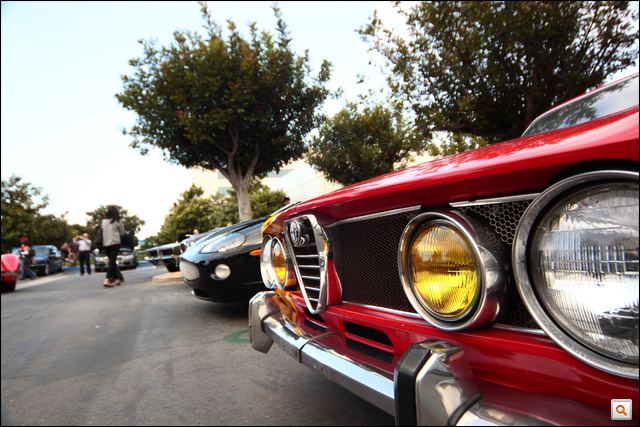 LA cars and coffee #36